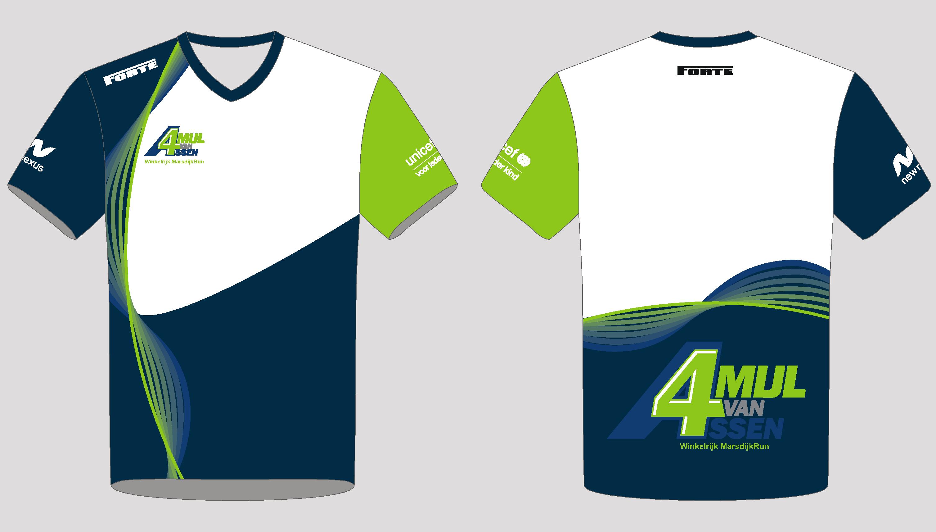 Shirt Standaard - 4Mijl-Assen