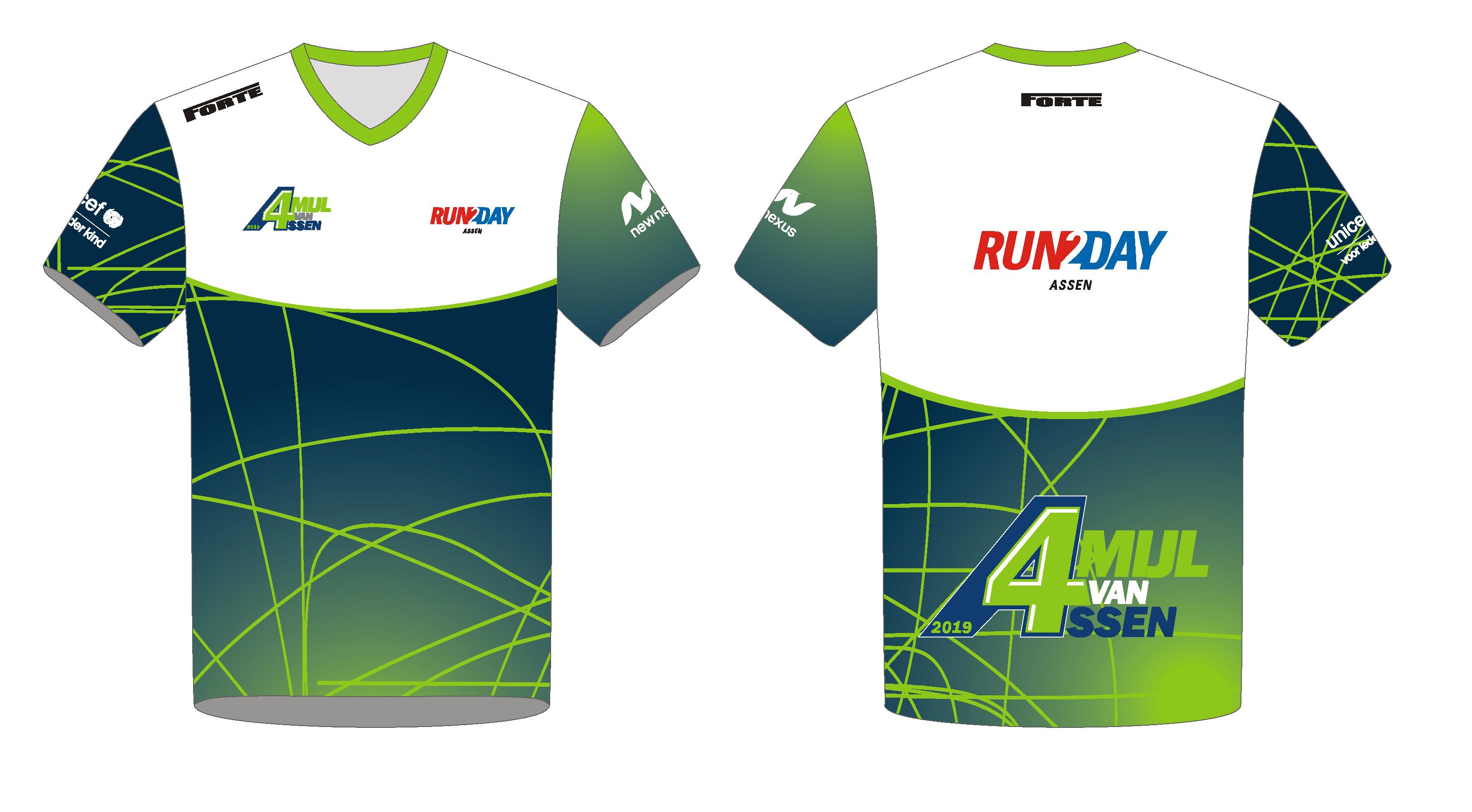 Team Shirt bedrijven - 4Mijl-Assen
