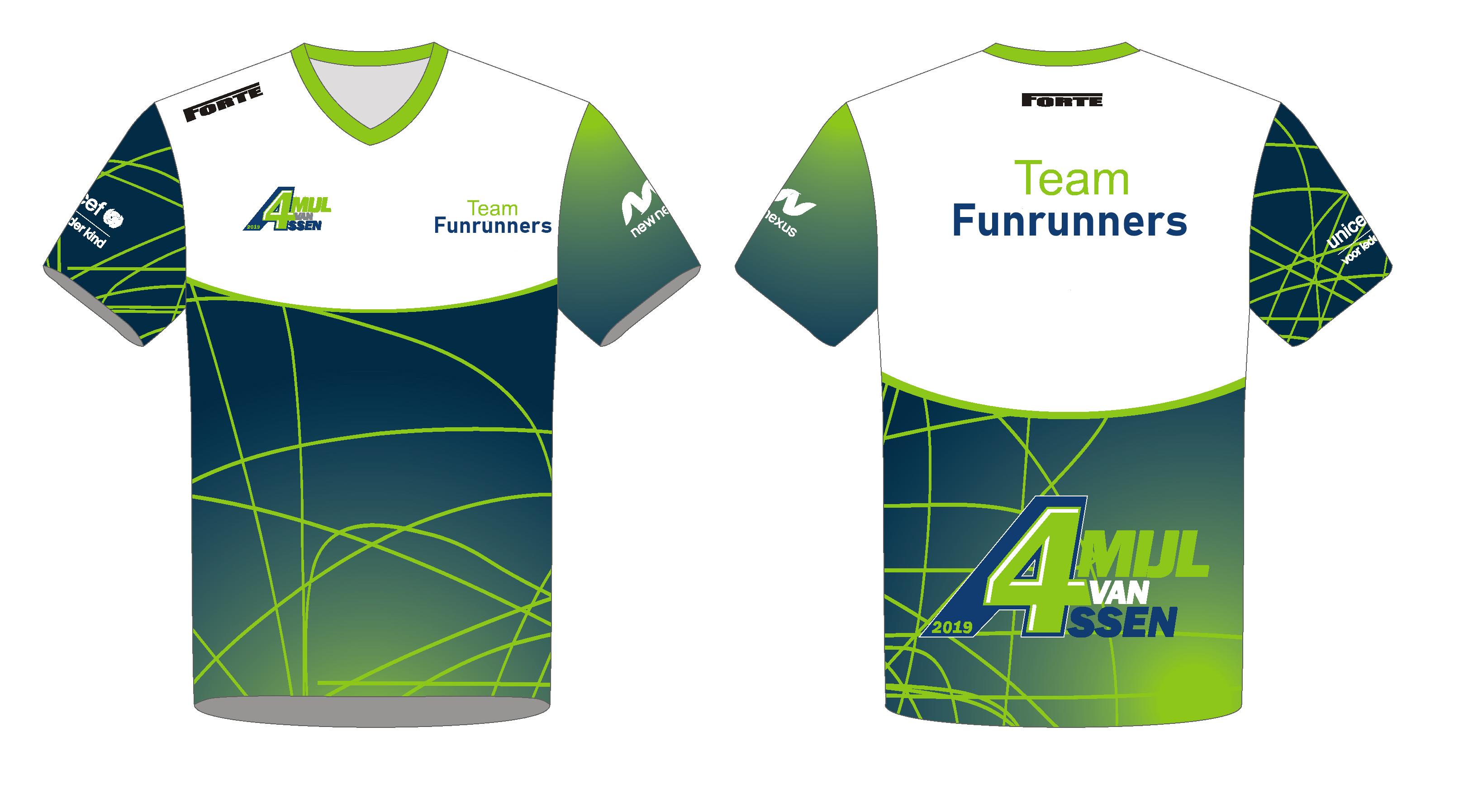 Team Shirt Familie - 4 Mijl van Assen