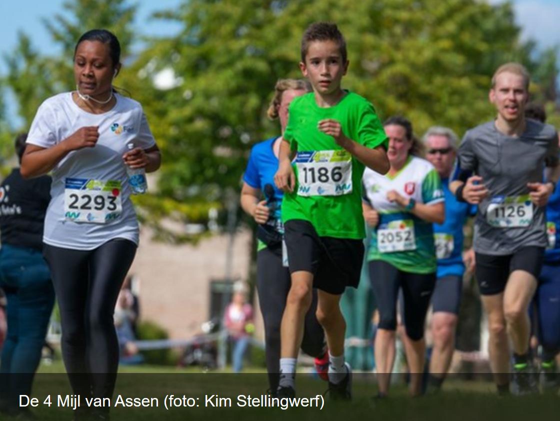 4 Mijl in beeld bij RTV Drenthe
