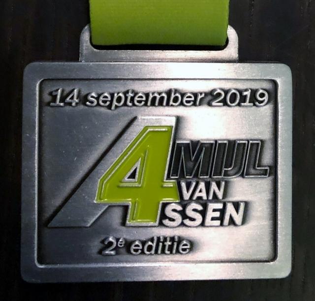 Medaille 4 Mijl van Assen - 2019