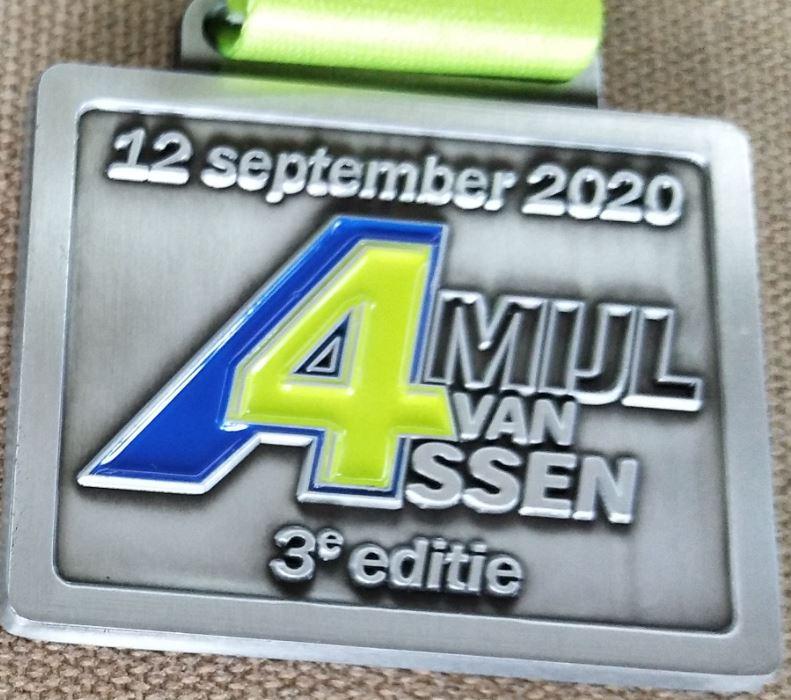 Medaille 4 Mijl van Assen - 2020
