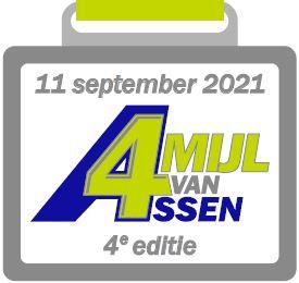 Medaille 4 Mijl van Assen - 2021